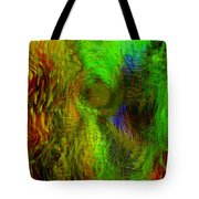 Dissolution Tote Bag by Linda Sannuti