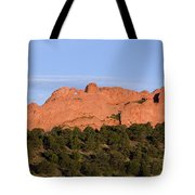 Distant Camels In The Garden Of The Gods Tote Bag