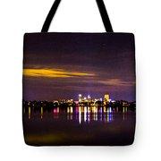 Distant City Tote Bag
