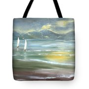 Distant Coast Tote Bag