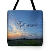 Distant Farm Tote Bag