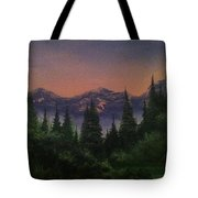 Distant Glow Tote Bag