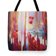 Distant Memory - A Semi Abstract Landscape Tote Bag