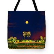 Distant Moon Desire Tote Bag