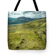 Distant Path Tote Bag by Nick Bywater