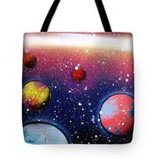 Distant Planets Tote Bag