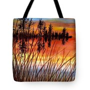 Distant Reflections Tote Bag