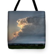 Distant Thunderstorm Tote Bag