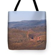 Distant Tunnel Tote Bag