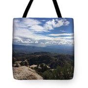 Distant Valley Tote Bag