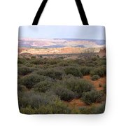 Distant View Tote Bag