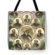 Distinguished Colored Men   1883 Tote Bag by Daniel Hagerman