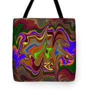 Distorted Dreams Tote Bag
