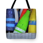 Distressed Buoy Tote Bag