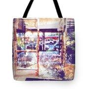 Distressed City Tote Bag