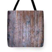 Distressed Door Tote Bag