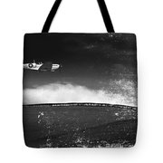 Distressed Spitfire Tote Bag by Meirion Matthias