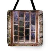 Disused Watermill Window Tote Bag