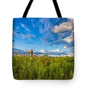 Ditch View  Tote Bag