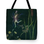 Ditchweed Fairy Cattails Tote Bag