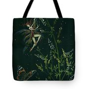 Ditchweed Fairy Hello Butterfly Tote Bag