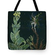 Ditchweed Fairy Mullein Tote Bag