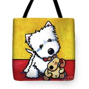 Ditto And Pudge Painting Tote Bag