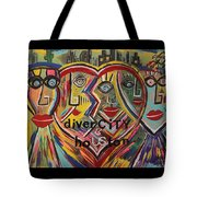 diverCITY is hoUSton Tote Bag