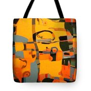 Diverging Pathways Tote Bag