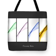 Diversity Rules Tote Bag