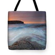 Divided Tides Tote Bag