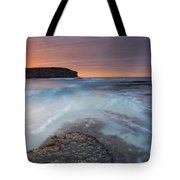Divided Tides Tote Bag