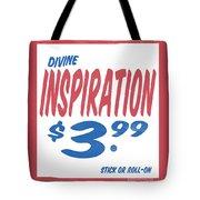 Divine Inspiration Supermarket Series Tote Bag