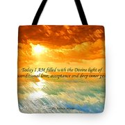 Divine Light - Ss1200b Tote Bag