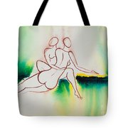 Divine Love Series No. 2090 Tote Bag