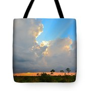 Divinely Inspired Sunset Tote Bag
