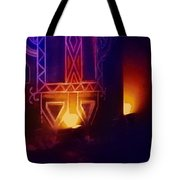 Diwali Lamps And Murals Blue City India Rajasthan Wide 2d Tote Bag