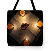 Diwali Lamps Tote Bag