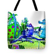 Dizzy Dragon Ride 2   Tote Bag
