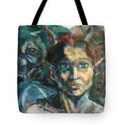 Djinn Trapped Tote Bag