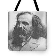 Dmitri Mendeleev, Russian Chemist Tote Bag