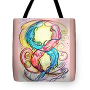 Dna Conflict Tote Bag