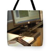 Dna Microarray Tote Bag
