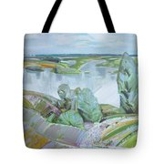 Dnepro River Tote Bag