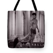 Dnt Leave Me Tote Bag