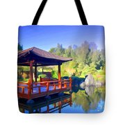 Do-00003 Shinden Style Pavilion Tote Bag