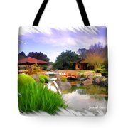 Do-00007 Japanese Gardens Tote Bag