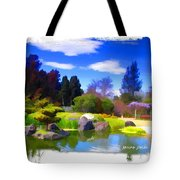 Do-00010 Turtle Island Waterview Tote Bag