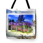 Do-00013 Wisteria Branches Tote Bag