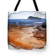 Do-00016 Pearl Beach Tote Bag